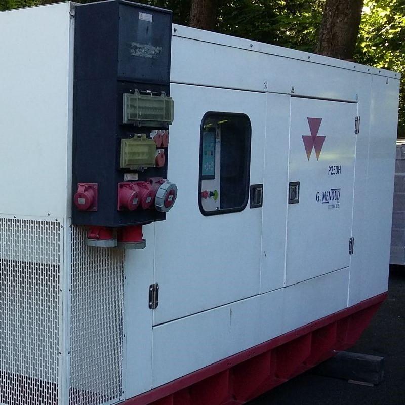 Groupe électrogène 250 KVA
